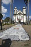 Kościół assis Francisco De Del rey joao sao Zdjęcia Royalty Free