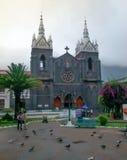 Kościół Banos De Agua Santa, Ekwador Zdjęcia Stock