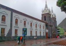Kościół Banos De Agua Santa, Ekwador Zdjęcie Stock