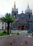 Kościół Banos De Agua Santa, Ekwador Obrazy Royalty Free