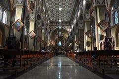 Kościół Banos De Santa Agua, Ekwador Obrazy Stock