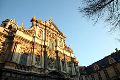 kościół barokowy Obraz Royalty Free