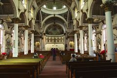 kościół bostonu Obraz Royalty Free