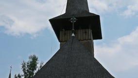Kościół Botiza monaster w Rumunia zdjęcie wideo