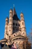 Kościół brutto St Martin Obraz Stock