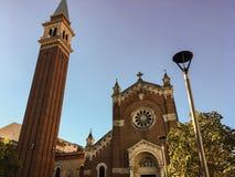Kościół był pierwszy w Verona budować na zewnątrz miasto ścian imię ` San Giuseppe fuori le Mura `, hence obraz royalty free