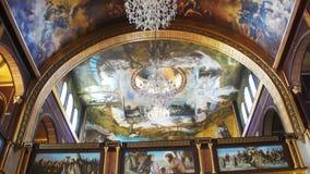 Kościół Chrześcijański, Boska ikona, ołtarz i religii wnętrze, zbiory