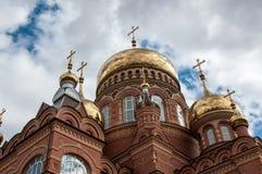 Kościół Chrześcijański kopuła Zdjęcie Royalty Free
