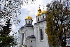 kościół chrześcijański kopuły Zdjęcia Royalty Free