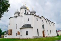 Kościół Chrześcijański w Novgorod Fotografia Royalty Free