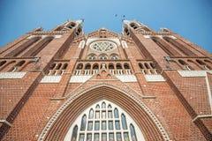 Kościół Chrześcijański w Yangon Obrazy Royalty Free