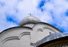 Kościół Chrześcijański z krzyżem Obraz Royalty Free