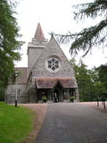 kościół crathie Obrazy Stock