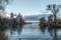Kościół Czterdzieści męczenników Sevastiysky zdjęcia royalty free