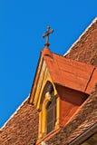 Kościół dach Zdjęcie Royalty Free