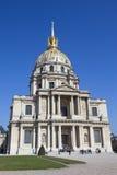 kościół des France hotelowi invalides Paris Fotografia Royalty Free