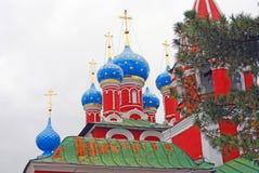 Kościół Dimitry na krwi. Kremlin w Uglich. obraz royalty free