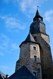 kościół dinan Obraz Royalty Free