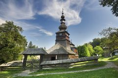 kościół drewna Obraz Royalty Free
