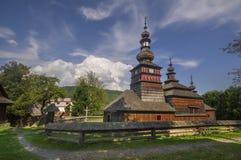 kościół drewna Zdjęcie Stock