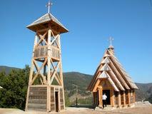 kościół drewna Fotografia Royalty Free
