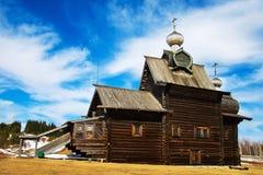 kościół drewna Obraz Stock