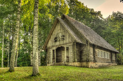 kościół drewna Zdjęcia Stock