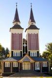 kościół drewniany Fotografia Stock