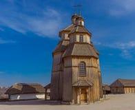 kościół drewniany obrazy royalty free