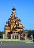 kościół drewniany fotografia royalty free