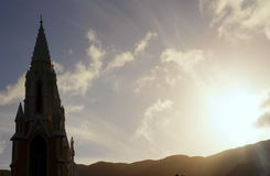 Kościół dziewica dolina obraz stock