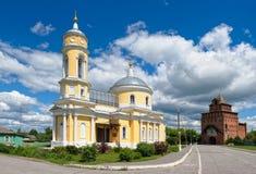 Kościół egzaltacja Święty krzyż Zdjęcie Stock
