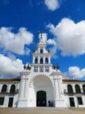 Kościół El rocÃo, Hiszpania fotografia royalty free