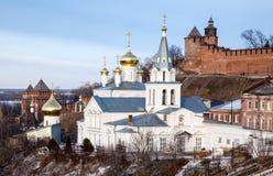Kościół Elijah Kremlin i profet Zdjęcia Stock