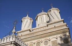 Kościół Episkopalny Curtea De Arges Zdjęcie Royalty Free