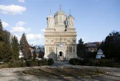 Kościół Episkopalny Curtea De Arges Fotografia Stock