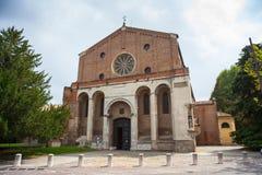 Kościół Eremitani, Padova Zdjęcie Royalty Free