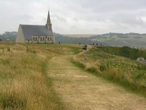kościół etrenat France zdjęcia royalty free