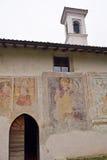 Kościół fifteenth wiek w kraju fotografia royalty free