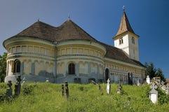 kościół fortyfikujący zdjęcia stock