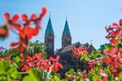 Kościół - Franciszkański kościół Zdjęcia Royalty Free