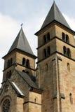 kościół góruje Obraz Royalty Free