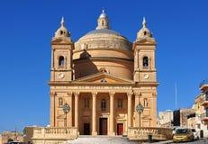 Kościół, Gozo wyspa Fotografia Royalty Free