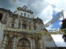 Kościół Grande San Fransisco el, Antigua Obrazy Royalty Free