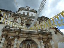 Kościół Grande San Fransisco el, Antigua Zdjęcie Royalty Free