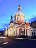 Kościół greatmartyr Panteleimon Święty uzdrowiciel i, St Petersburg zdjęcie royalty free