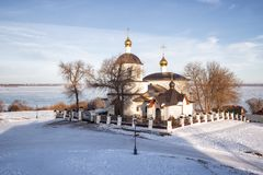 Kościół Helena i Constantine, Sviyazhsk zdjęcia royalty free