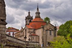 Kościół i monaster São Gonçalo w Amarante, Portugalia zdjęcia stock