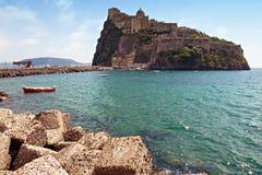 Kościół i monaster wysp Ischia Zdjęcie Royalty Free