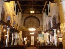 Kościół inside Obrazy Stock